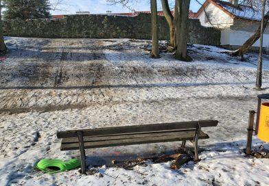 (Nie)bezpieczna zabawa zimą