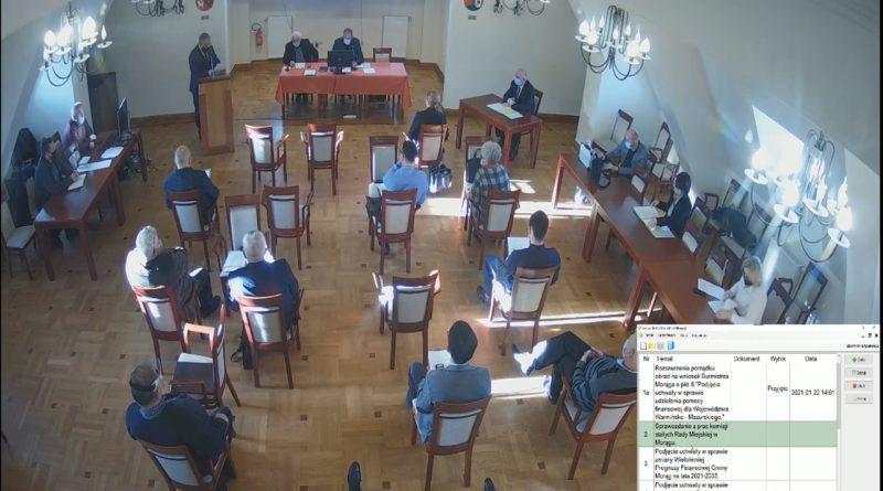 Styczniowa sesja Rady Miejskiej w Morągu