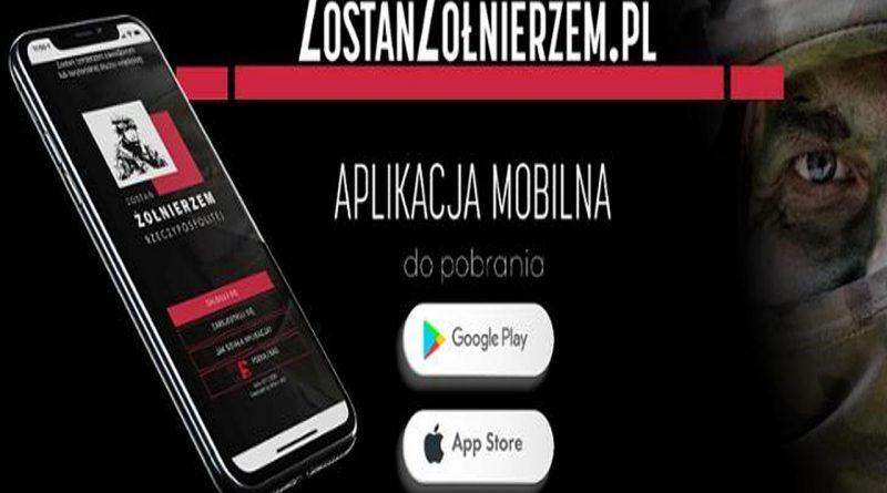 Nowa aplikacja dla kandydatów na żołnierzy Wojska Polskiego