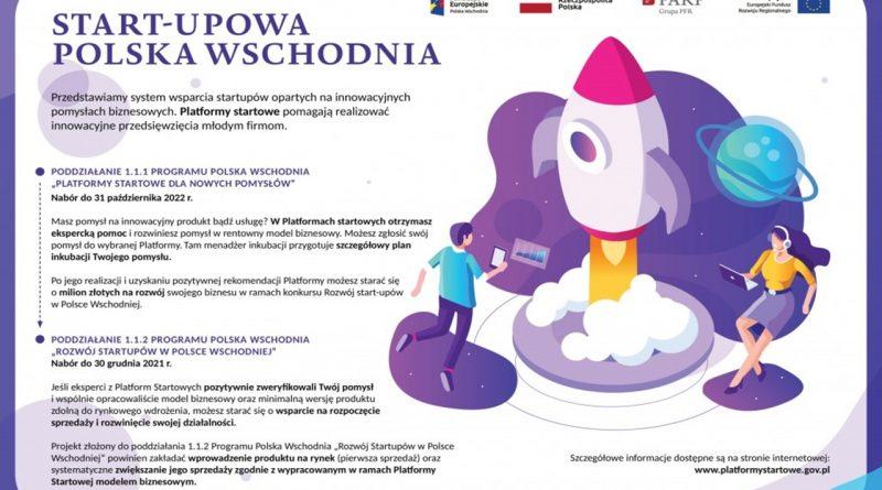 Rozwój start-upów w Polsce Wschodniej