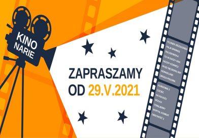 """Od soboty, 29 maja, wznawia działalność kino """"Narie"""""""