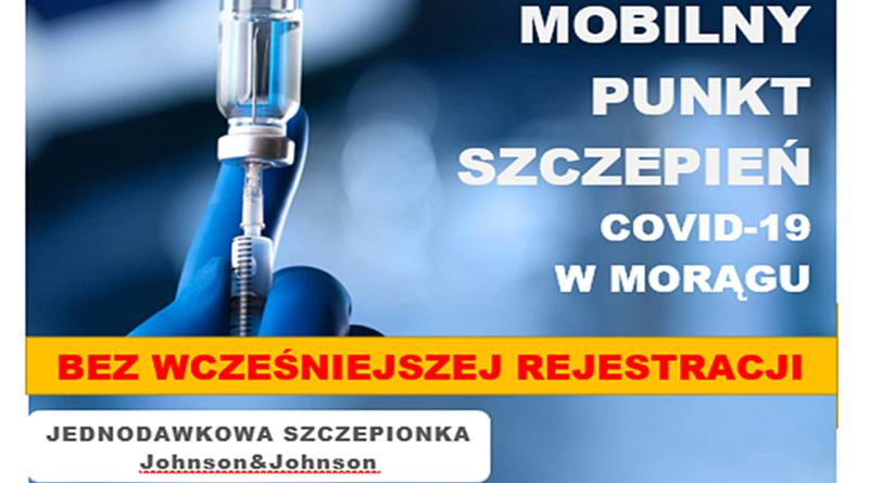 Mobilny Punkt Szczepień w piątek 30 lipca przy MDK